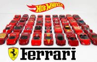 Hot-Wheels-Red-Ferrari-Cars-Showcase