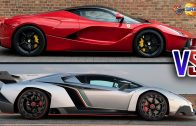 Ferrari-LaFerrari-Vs-Lamborghini-Veneno-CARS-BATTLE